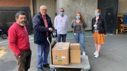 4.000 bakjes troost en 10 kilogram chocolade voor personeel van AZ Sint-Jan