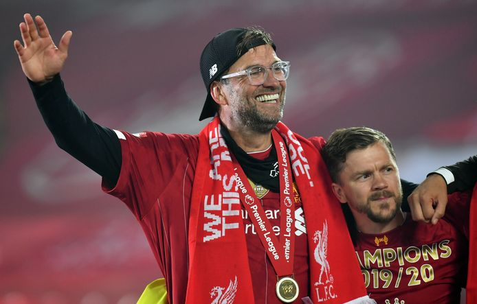 Jürgen Klopp viert de titel.