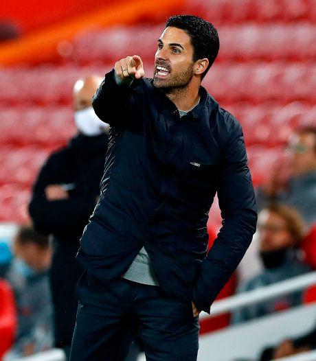 Arsenal-coach Arteta: 'We zijn nog lang niet zo goed als Liverpool'