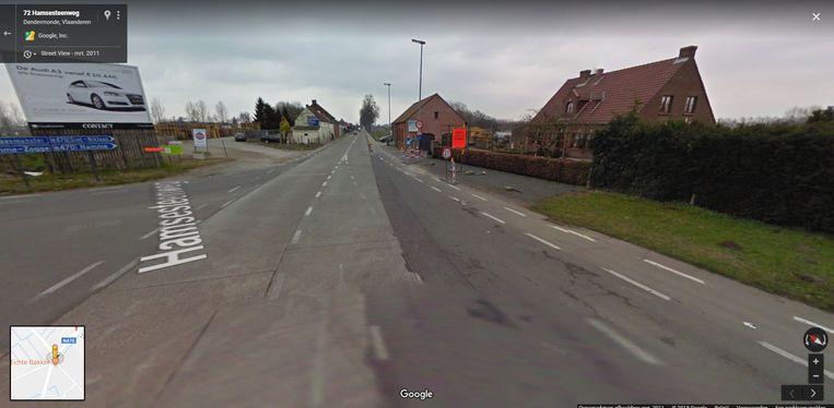 De straatrace werd opgemerkt door de politie op de Hamsesteenweg.