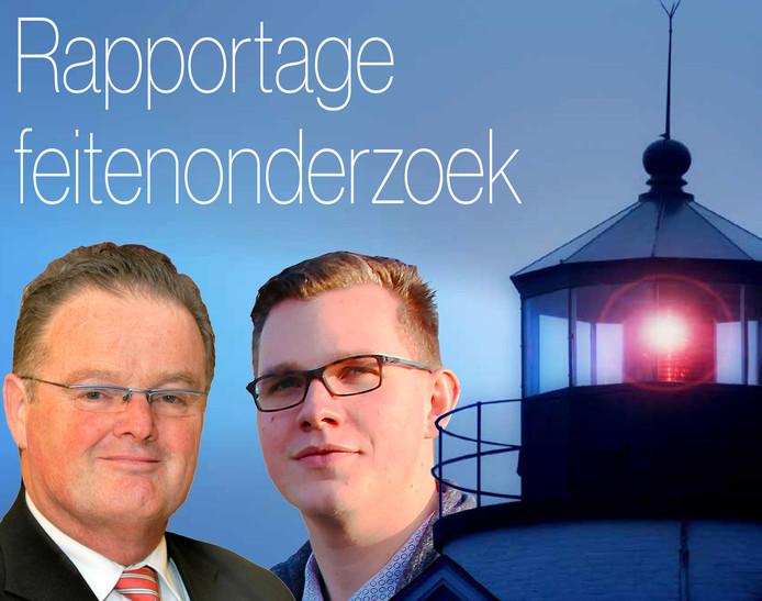 Peter van Dijk (links) en Vincent Bosch van de PVV