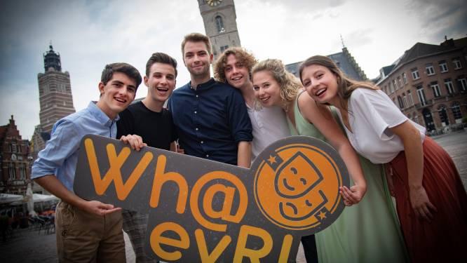 Camerata Productions mag webreeks Wh@evR! succes noemen: meer dan 21.000 kijkers volgden serie