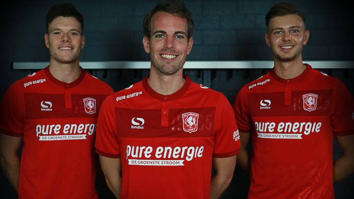 Het nieuwe thuisshirt van FC Twente