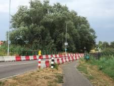Brug over de Oude Rijn in Lobith moet eruit vanwege betonrot