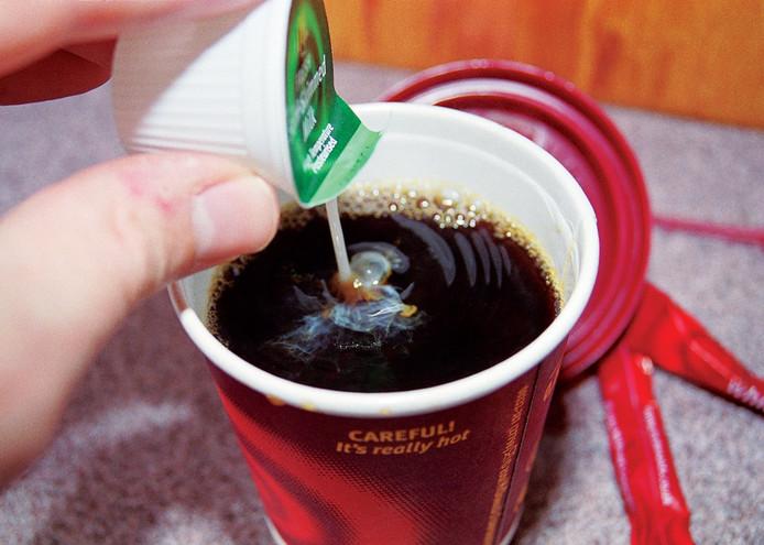 Stock Wegener kopje koffie