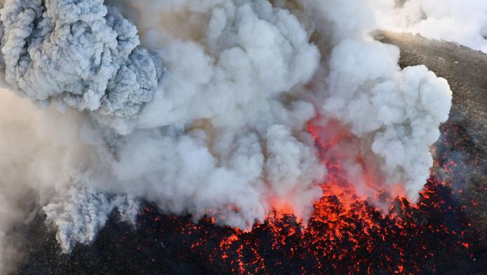 Le volcan Shinmoedake (archives).