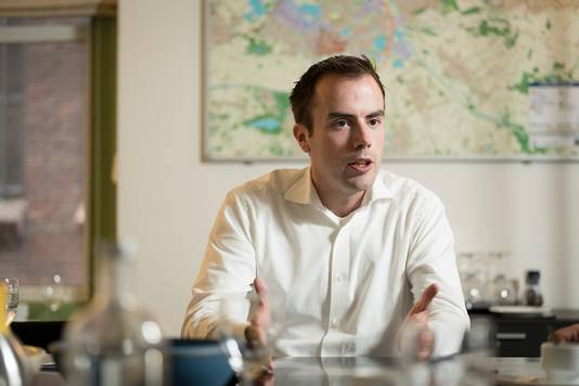 Wethouder Mike van der Geld