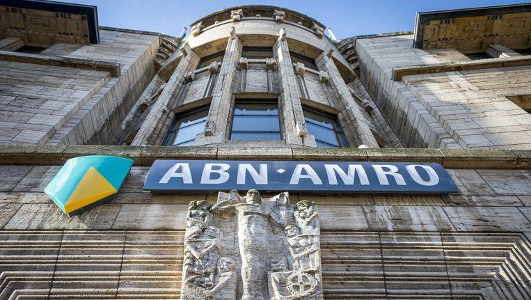 ABN Amro kende afgelopen week een stormloop op de aandelen, vooral door kleine beleggers Beeld ANP