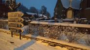 Ieper opnieuw in de sneeuw