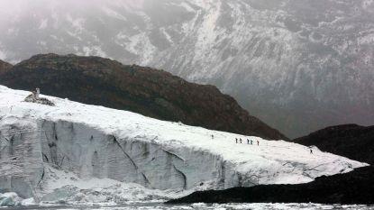 Helft Peruviaans gletsjeroppervlak gesmolten in halve eeuw tijd
