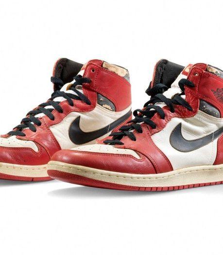 Une paire de baskets portée par Michael Jordan vendue... 520.000 euros