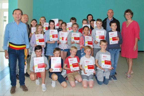De leerlingen van de Wielsbeekse Techniekacademie hebben hun diploma's in ontvangst mogen nemen.