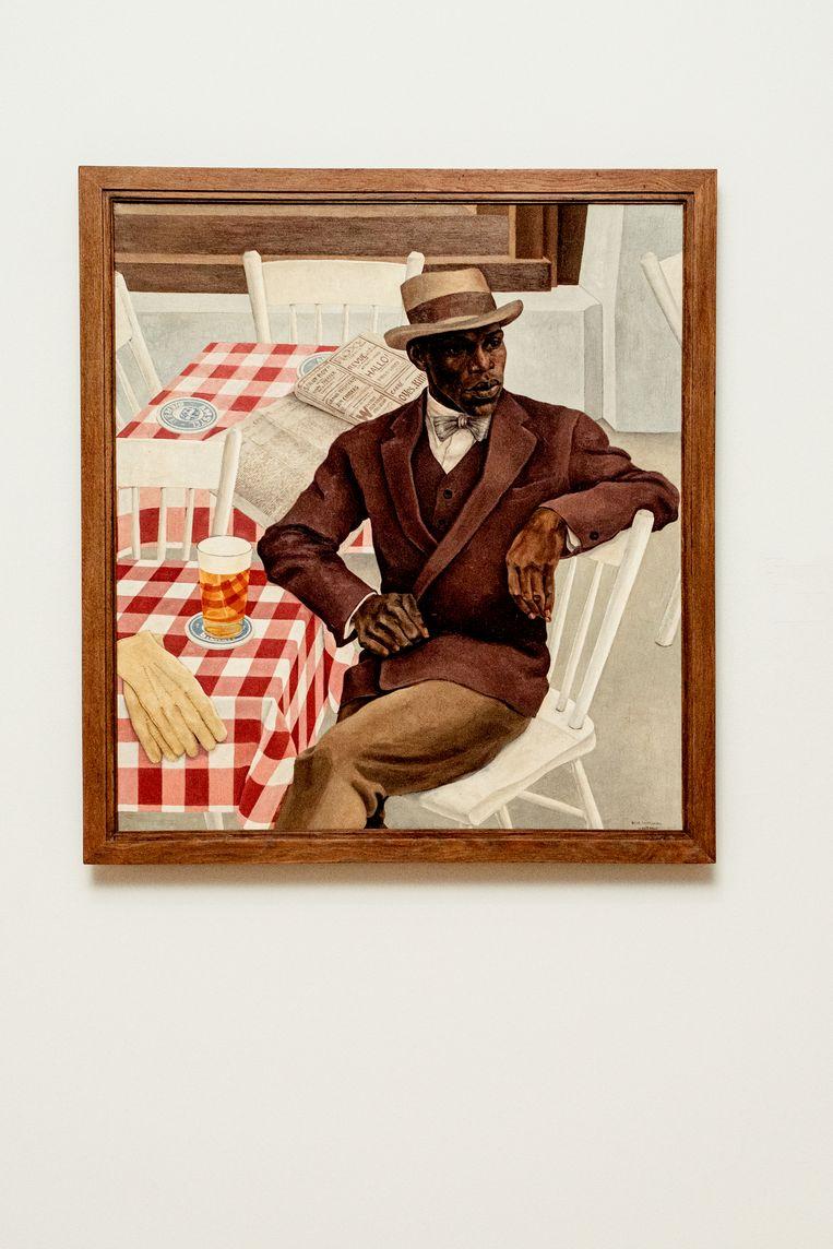 Nola Hatterman - Op het terras (1930)  Beeld Jakob van Vliet