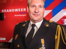 Koninklijke onderscheiding voor Haaksbergse brandweervrijwilliger Benno Spekschoor