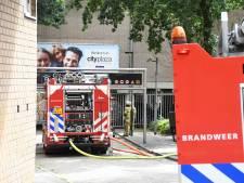 Deel Cityplaza Nieuwegein zondag ontruimd vanwege brand, politie denkt aan brandstichting