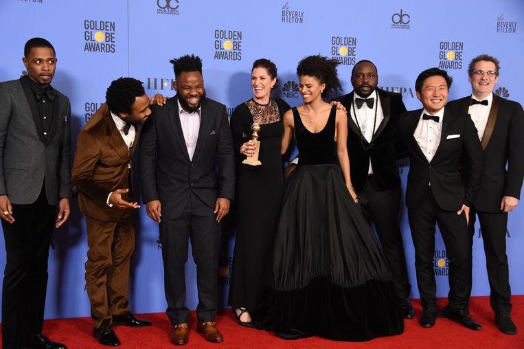 De cast van 'Atlanta'.