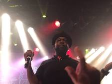 Feilloze Jeru the Damaja trapt festival E-Moves af in Effenaar