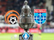 LIVE: De Meern probeert te stunten tegen PEC Zwolle