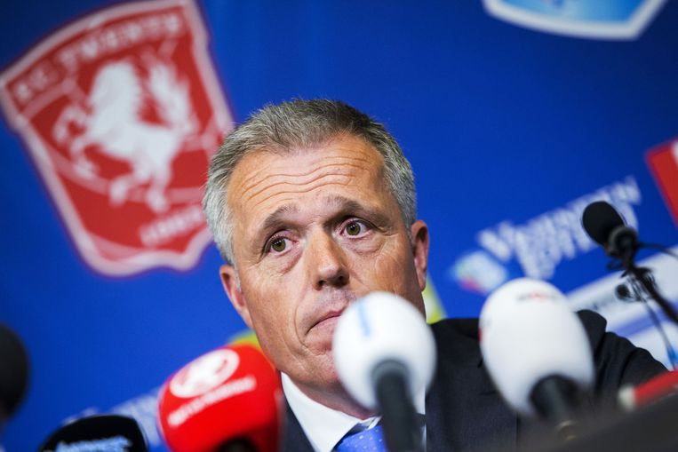 Directeur Onno Jacobs van FC Twente. Beeld anp