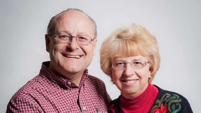 Nancy Writebol et son mari David. Il volera vers les Etats-Unis quelques jours après son épouse.