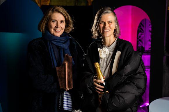Chantal Spaas (links) en Sofie D'Hoore.