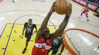 Raptors winnen vierde match van NBA-finals en kunnen titel ruiken