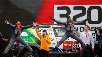 Litouwer wint met privéwagen verrassend eerste rit in Dakar, Belgen starten prima
