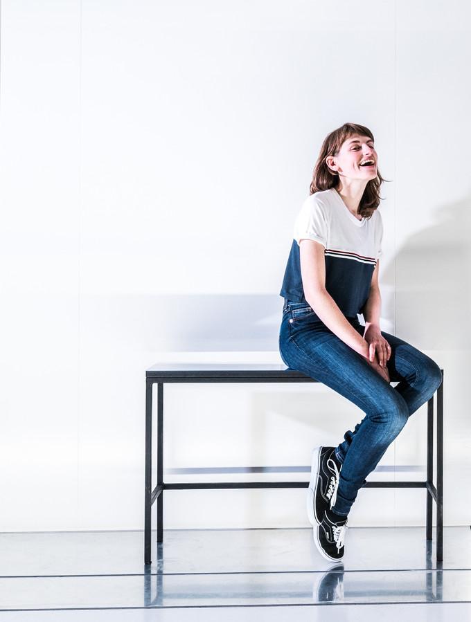 Actrice Merel Pauw (22) zoekt in Arnhem de rust en de ruimte die ze in Amsterdam niet vond.