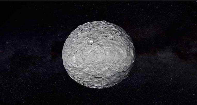 Dwergplaneet Ceres. Beeld null
