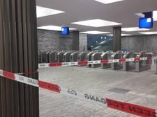 Station Breda afgesloten door storm, stukken beton komen naar beneden