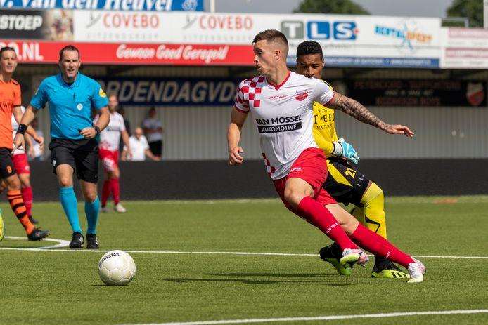 Thomas Marijnissen in het shirt van de 'boys'.