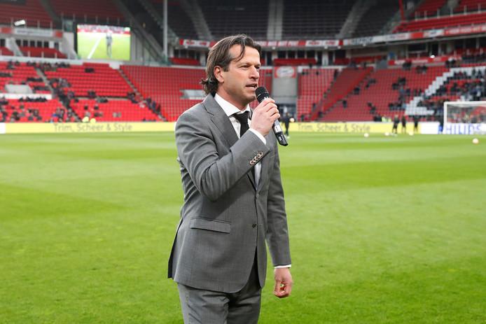 Hoofd jeugdopleidingen Ernest Faber van PSV.