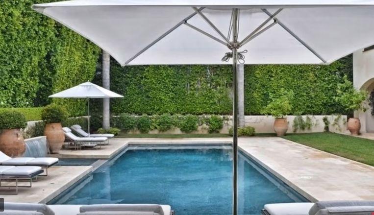 Een riant zwembad in de tuin