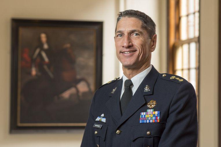 Jeff Mac Mootry wordt de nieuwe commandant van het Korps Mariniers. Beeld Korps Mariniers