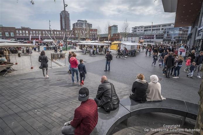 De binnenstad van Enschede verandert dinsdag tot en met vrijdag in een 'living lab'