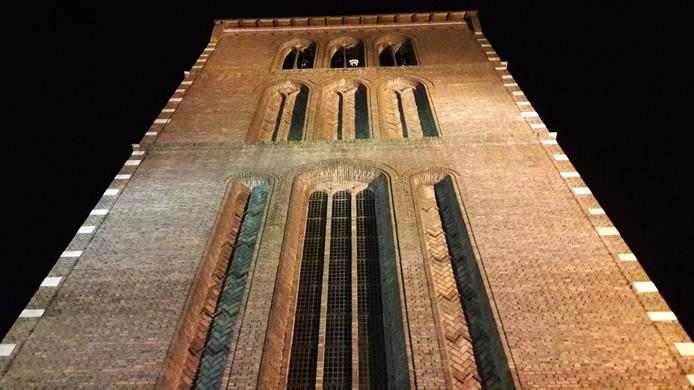 Laatste voorstel uit de verkiezingscampagne: Harrie Marsé wil  van de Joanneskerk het gemeentehuis maken.