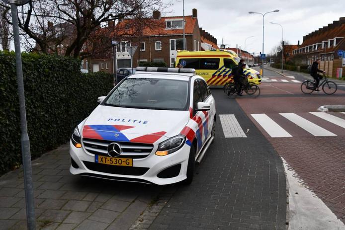 Het ongeval gebeurde op de kruising Banckertplein - Dorus Rijkersstraat.
