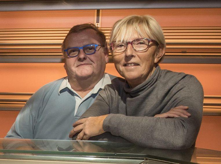 Ignace Declercq (60) en zijn vrouw Rita Van Meerhaeghe (65).