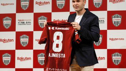 FT buitenland: Vissel Kobe presenteert Andres Iniesta - CL-winst levert Wullaert minstens 15.000 euro premie op