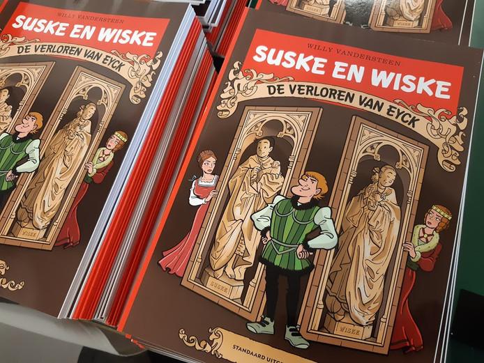 Suske & Wiske en 'De Verloren Van Eyck'