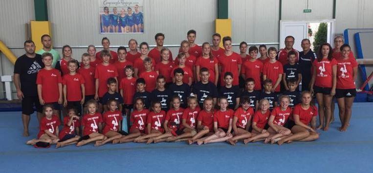 Ardua-Gym tijdens een bezoek aan Arad