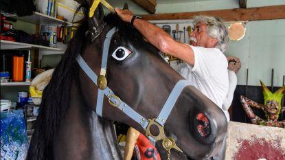 Opknapbeurt voor kop Paard van Sint-Gillis