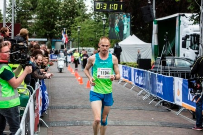 Gert-Jan Wassink, hier te zien in de Gemert City Run. Archieffoto.