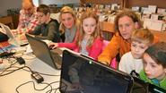 Kinderen leren website maken