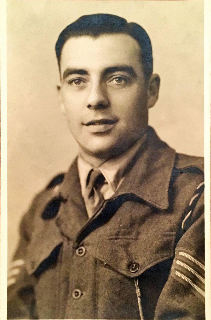 Thieu Vonken was een van de acht Cranendonckse Engelandvaarders. Hij diende bij de Prinses Irene Brigade.