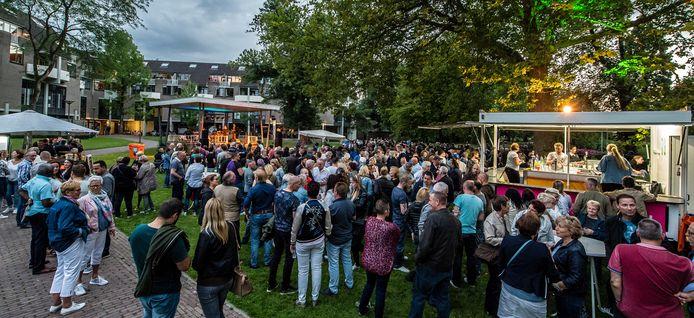 Roosendaal Swingt in het park trekt altijd een hoop bezoekers.