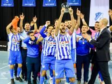 Lat wordt bij zaalvoetballers FC Eindhoven steeds hoger gelegd; selectie komend seizoen rond