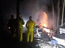 Un cabanon est parti en fumée dans le camp pour SDF de la Chartreuse