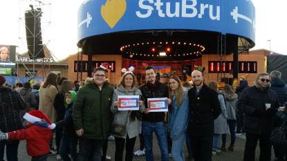 Roosdaalse jeugdverenigingen, CD&V en Triangel Pamel schenken samen 1.398,97 euro aan AJOK