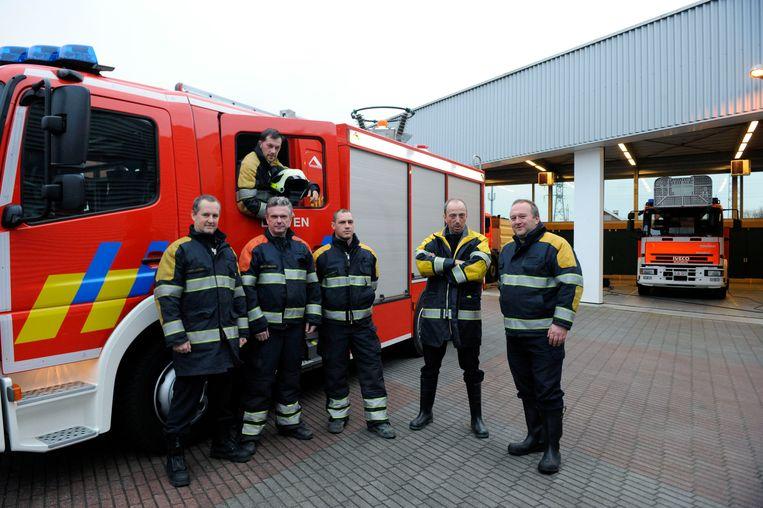Illustratiebeeld brandweervoorpost in Haacht